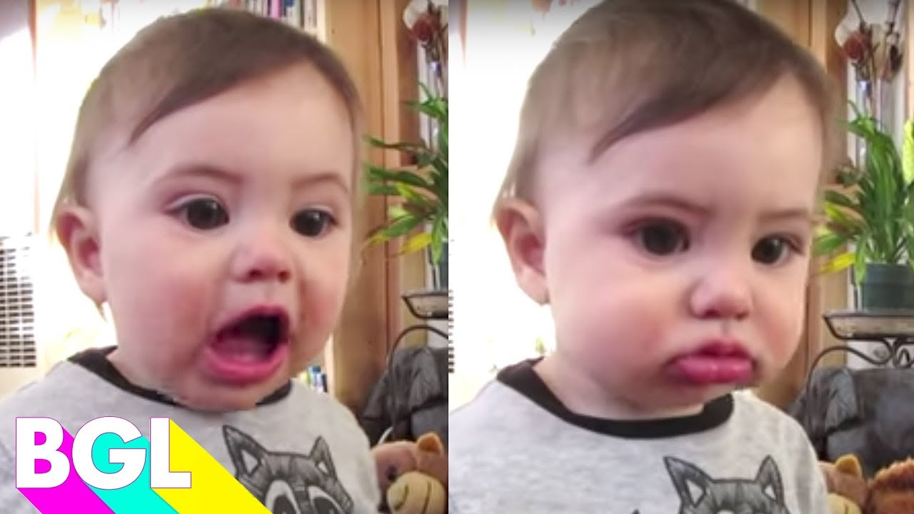 Baby First Words! | Try Not To Laugh Challenge