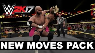 WWE 2K17 New Moves Pack Is Live