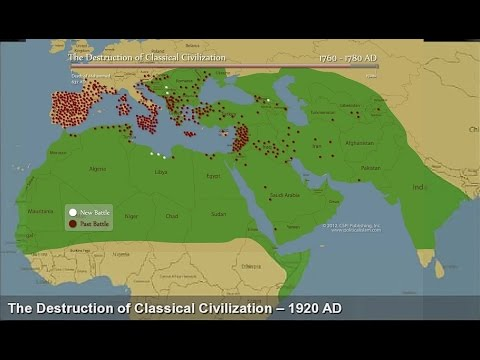 The 1,400 year secret of Islamic Jihad and the Dark Ages - Dr. Bill Warner (subtitled)