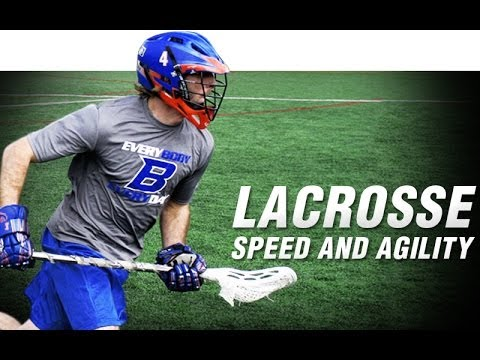 Lacrosse Box 3 Drill | Increase Speed and Agility | Lacrosse Leg Resistance Bands