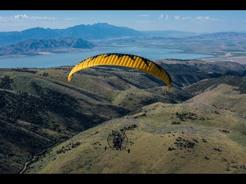Can Paramotors Fly During The Day? 13 Year Old Powered Paragliding Pilot Soars Mountains!!