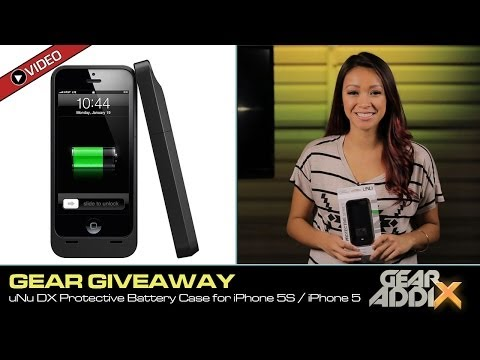 GEAR GIVEAWAY: uNu Power DX External Protective Battery Case for iPhone 5/5s