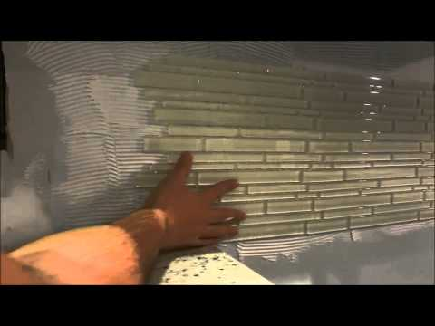 How To Install A Backsplash With A Mesh Backing (DIY Tiling Tutorial)