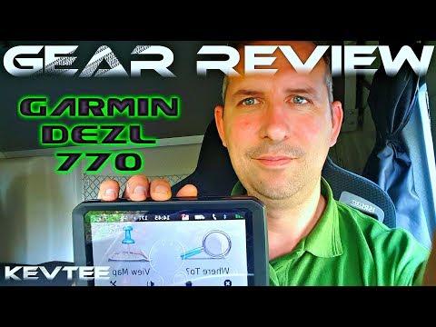 Trucking News - Garmin Dezl 770 Truck Sat Nav Review