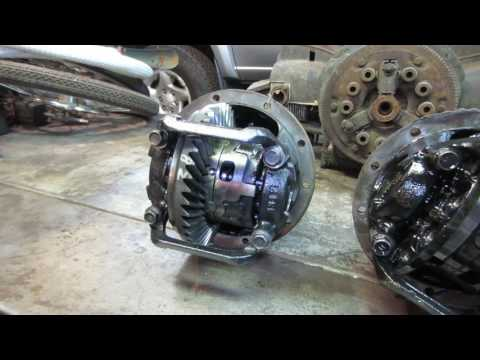 toyota tundra rear differential repair