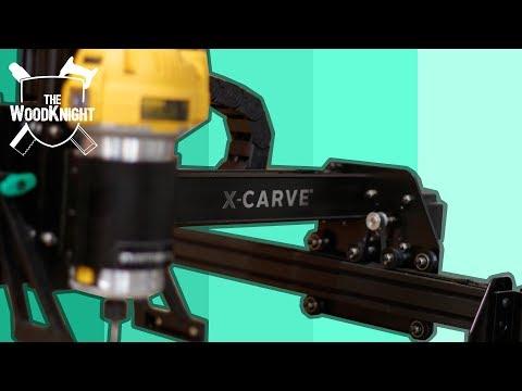 New X-Carve Review (750mm, Z-Probe, dust shoe)