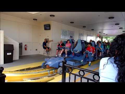 Hershey Park: Skyrush on Ride Front Row POV / June 14, 2014