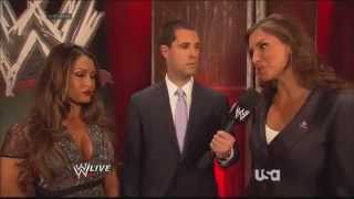 Stephanie McMahon & Nikki Bella Backstage
