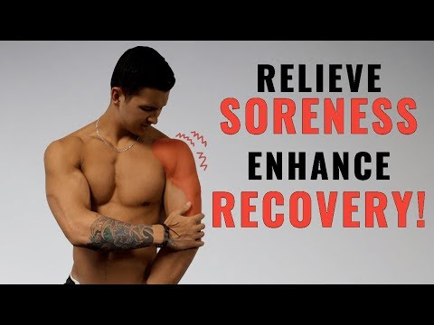 How to Relieve Muscle Soreness and Recover FAST (4 Science-Based Tips)