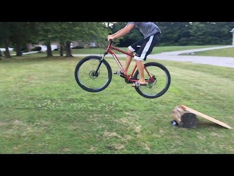 How To Make A Bike Ramp (EASIEST WAY!!!!)