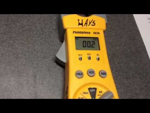 How to test a run capacitor.