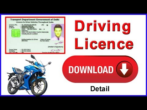 driving licence Download Online For All State