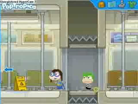 Poptropica-Super Power-Speeding Spike