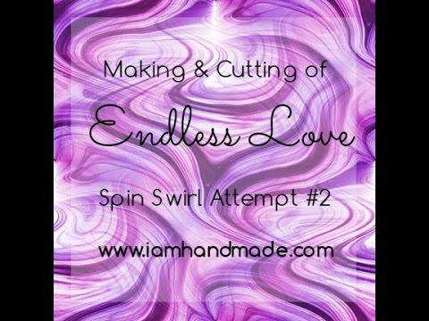 Making + Cutting Endless Love Spiral Swirl Attempt #2