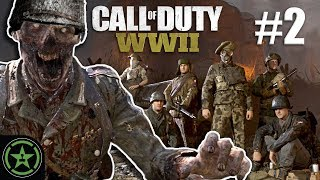 A Quiet Zombie Day - Call Of Duty WWII - (CoD Week #2)   Let