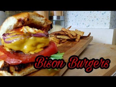 Bison Burgers   How to Cook Bison