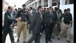 PML N Leader Javed Hashmi Met Brain Hemorrhage Pkg By Najam Wali khan.flv