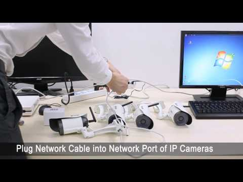 Security Camera Installation Tutorial from DHgate - Zmodo NVR HD Wireless Security Cameras
