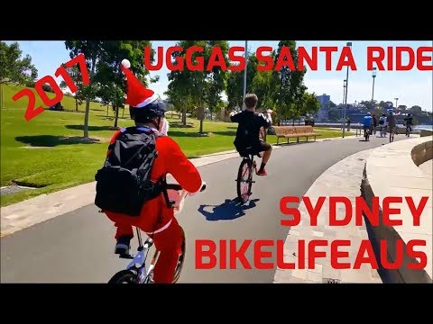 Uggas Santa ride || Sydney 2017 Bikelife AUS