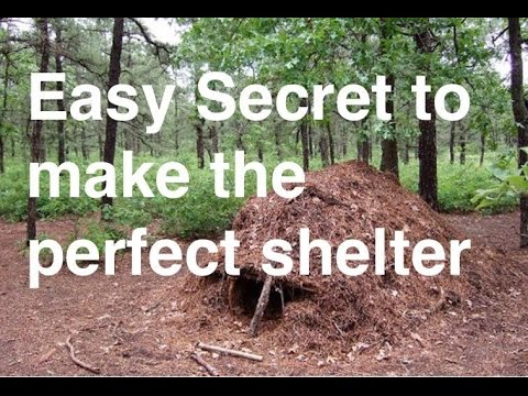 Easy secret to make the best shelter