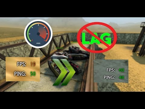 Tanki Online-How To Fix Your Fps To 60 With Full Graphic!!