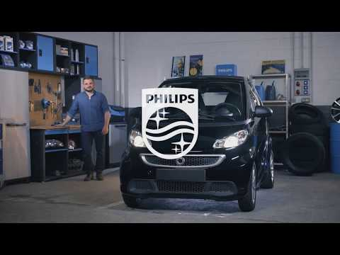 How to replace headlight bulbs on your smart ForTwo - Philips automotive lighting