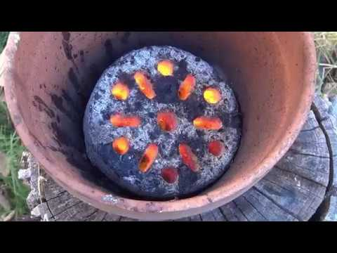 Terracotta Vase as a Grill