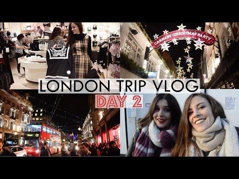 London Trip Vlog Day 2: Oxford/Regent/Carnaby Streets + Topshop + Night Out! [SUBTÍTULOS EN ESPAÑOL]