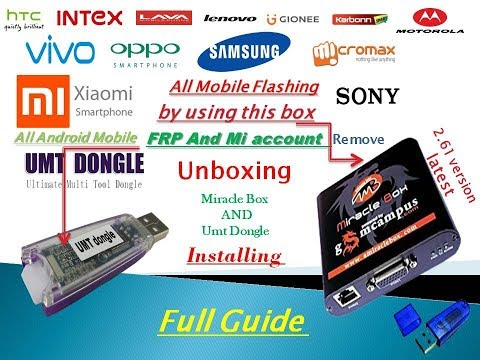 Download miracle box unboxing & umt dongle unboxing