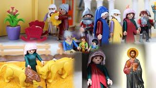 Ο βίος της Αγίας Κυριακής - Οι Άγιοι γίνονται παιδιά