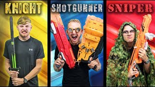 NERF Choose Your Class Challenge!