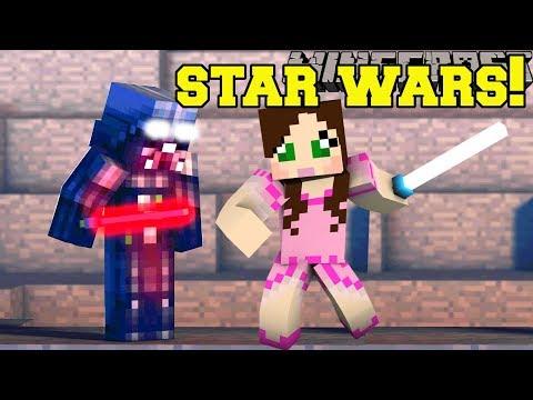 Minecraft: STAR WARS ESCAPE!!! - STAR WARS FIND THE BUTTON - Custom Map