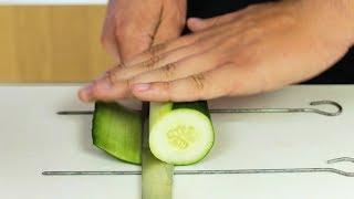Simple Katsuramuki Cutting Tutorial