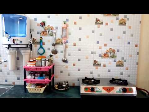 How to Organize Kitchen without Cabinets|Kitchen Organization ideas in tamil