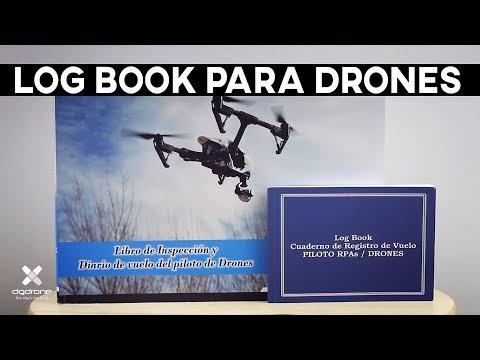 LOG BOOK de vuelo para DRONES