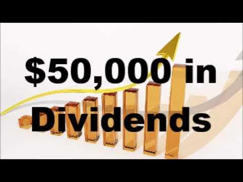 $50,000 in Dividends; Building a Dividend Portfolio