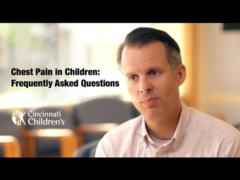 Chest Pain in Children | Frequently Asked Questions | Cincinnati Children's