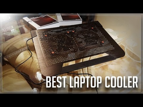 The BEST gaming laptop cooling pad (With Noctua NF-A14 Fans)