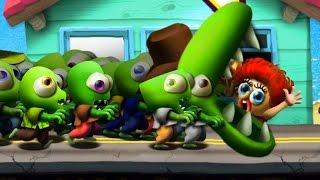 Download Zombie Tsunami #2 Игровой мультик для детей про зомби, веселый детский мультик игра для малышей. Video