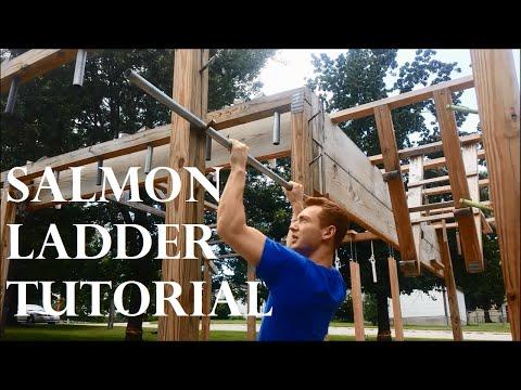 Ninja Warrior: Salmon Ladder TUTORIAL & Training