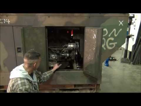 Military surplus generator repair, and first start after years of sitting