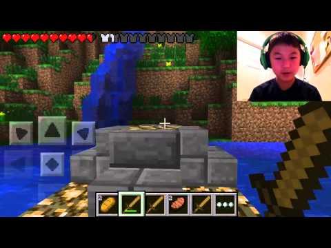 Minecraft PE Hunger Games: Ep. 4 - Noooo Shears!!!!