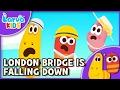 Nursery Rhyme London Bridge Is Falling Down English Larva KIDS Song