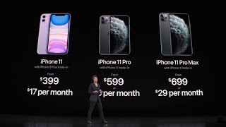 Apple just unveiled the new iPhone 11 Pro and iPhone 11 Pro Max