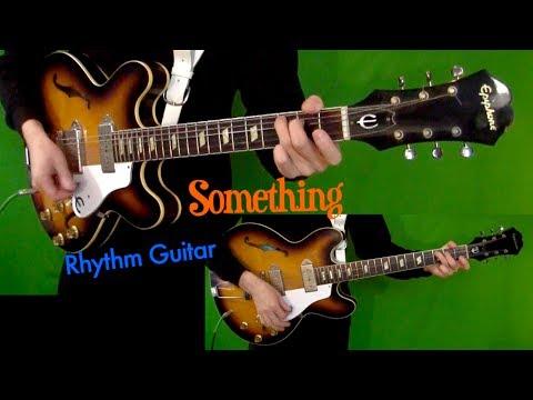 Something - Rhythm Guitar Cover - Isolated