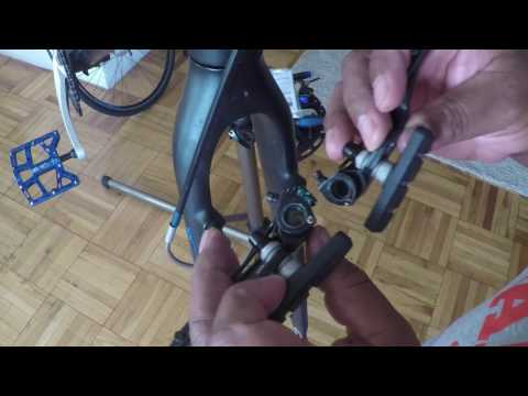 How to install V-Brakes on a bicycle