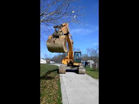 Samsung SE210 LC-2 Excavator No Reserve High Bid Wins