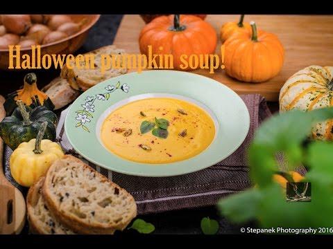 Pumpkin soup recipe #creativekitchen