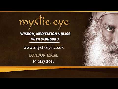 Mystic Eye with Sadhguru in London ExCeL on 19th May, 2018