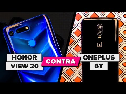 El Honor View 20 se enfrenta al OnePlus 6T: ¿Cuál crees que gana?